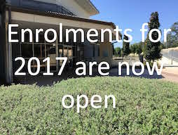 Student enrolments for 2017