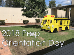 2018 Prep Orientation Day