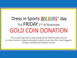 Sports Colours Day Fundraiser