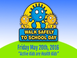 Walk Safely to School Day 2016